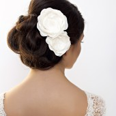 garden rose, rose, hair, clip, pin, comb, bridal, wedding, wedding hair
