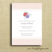 Garden Party Shower Invitation