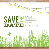 Garden Party Printable Save The Date