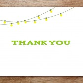 Garden Party Printable Thank You Card