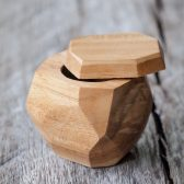 Ideal for presenting a ring, or presenting THE ring. A beautiful and handcrafted alternative to the all too common plastic ring box. Finally you have found the ring box that's just right for that once in a lifetime moment you have been planning so carefully. Afterwards, she can use it to safely keep her ring in it while bathing.