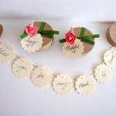 Garland Messsage Bridesmaid Proposal Will you be my Bridesmaid
