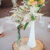 Wood Round, Tree Slice, Rustic Wedding, Cake Stand, Wedding Centerpiece, Tree Slab, Wood Cake Stand-Wedding Decor-Wood Centerpiece