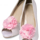 Gia Satin Shoe Clips