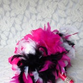 Glitz & Glam Bridal Feather Bouquet