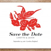 GongXi Printable Save The Date