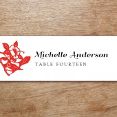 GongXi Printable Place Card