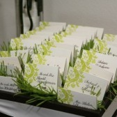 Chartreuse Green Place Cards