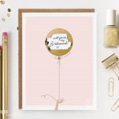 "Scratch-off ""Be My Bridesmaid?"" Cards"