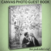 Tree Canvas Guest Book