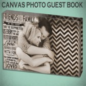 Canvas Guest Book Art