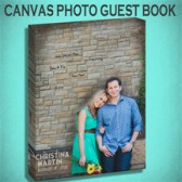 Canvas Guest Book