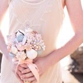 Shell Sparkle Bouquet w/ Driftwood Handle