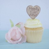 Happily Ever After Cupcake Toppers