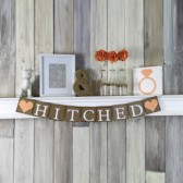 Hitched Wedding banner