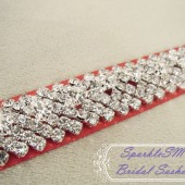 Holly Bridal Sash - SparkleSM