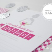 How Well Do You Know the Bridle printable shower game in Fuchsia Pink