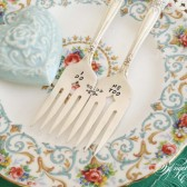 I Do Me Too Wedding Cake Forks