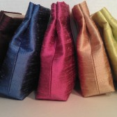 Discounted Custom Silk Clutches