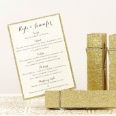 Gold Glittered Clothespins - Table Number Holders