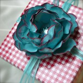 Favor Embellishement - paper flower