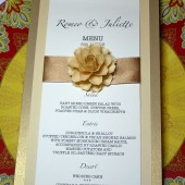 The Menu Cards