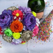 Handmade Paper Flowers Bouquet by Dragonfly Expression