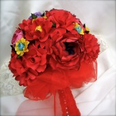 Paper Bouquet Mexican Folklore Inspired