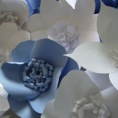Wall - Backdrop decor - Large Paper Flowers