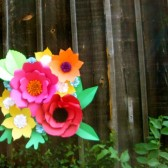 Large Paper Flower Backdrop