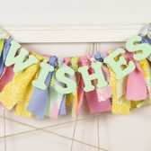 Colorful WISHES banner