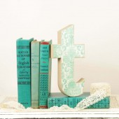 Letter T Table Decor