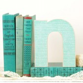 Letter N cake topper - table decor