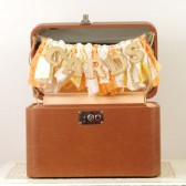 Vintage Suitcase Card Box