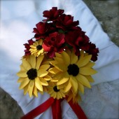 Black Eyed Susan Paper bouquet