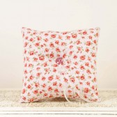 Pink Roses... Vintage Inspired Ring Bearer Pillow