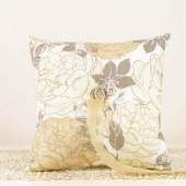Vintage Style Ring Bearer Pillow in Ivory