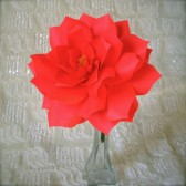 large paper Flower for Backdrop