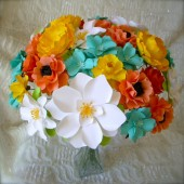 Spring Colors Paper Bouquet