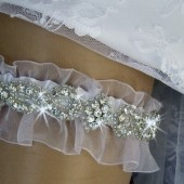 Crystal Wedding Garter