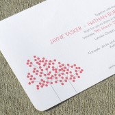 Wedding Invitation Aspen Tree
