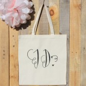 "Photo Prop Wedding ""I Do"" Tote Bag"