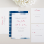 Crescendo Modern Wedding Invitation
