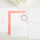 Cirque Modern Wedding Invitation