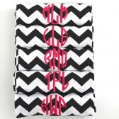 Monogrammed Bridesmaid Scarf Set