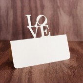 Love Statue Place Cards - Philly