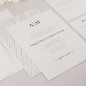 Abigail Wedding Invitation