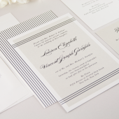 Alden Wedding Invitation