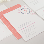 Cirque Wedding Invitation