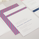 Grosgrain Wedding Invitation